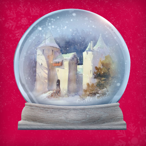 Castle Coch Christmas Cards