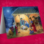 Childrens Nativity Christmas Cards