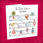 Twelve Days Christmas Cards