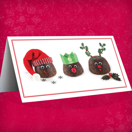 Tŷ Hafan Puddings Christmas Cards