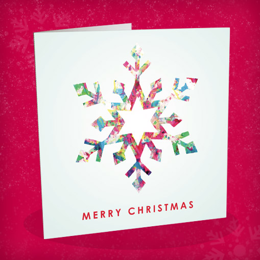 Wheelchair Art Star Christmas Cards