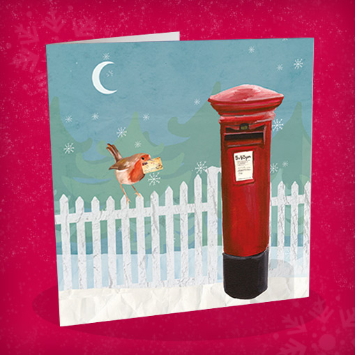 Robin and Postbox