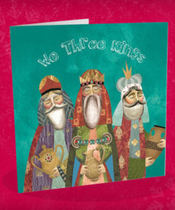 We three kings Christmas card