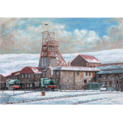 Christmas at the mine