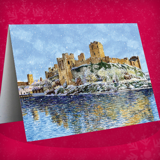 pembroke castle in winter