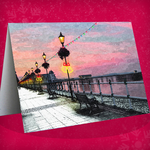 christmas card penarth